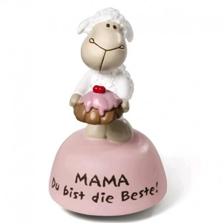 "NICI FIGURA JOLLY ""SUPER MUM"" 12/1 DISPLAY ""MUM"""